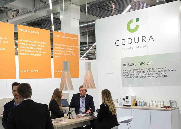 Cedura at the Succeet21 in Munich